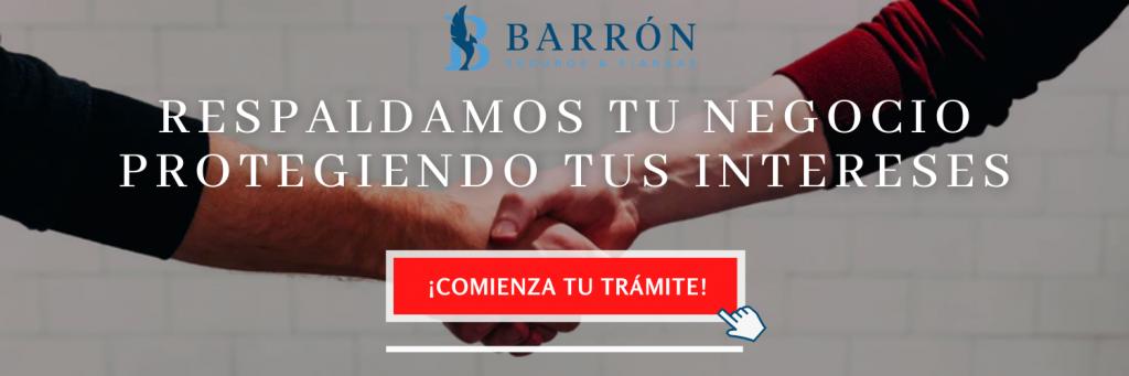 Trámite de fianza-Barrón-Contacto
